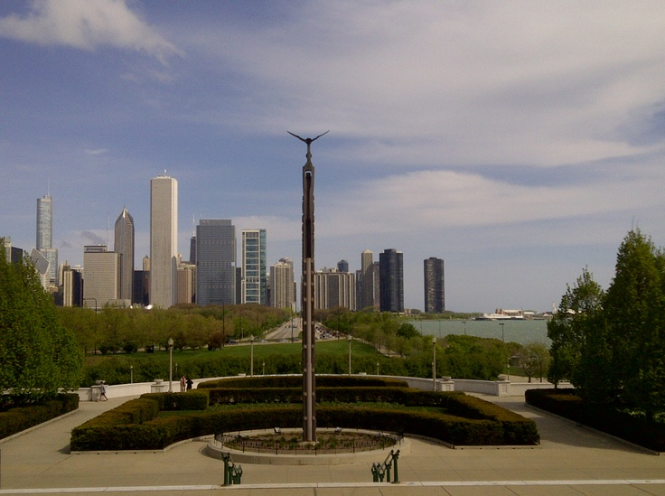 Chicago, view from Field Museum
