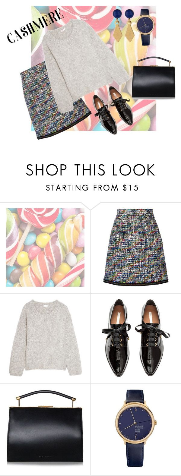 """""""Candy"""" by mia-de-neef ❤ liked on Polyvore featuring Hard Candy, Boutique Moschino, Chloé, Mondaine and Melrose & Market"""