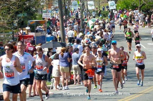 Everything about the Boston Marathon! Find out what to expect along each mile of the BM route. Find maps, mile by mile course description, elevations, and tips about best viewing locations.