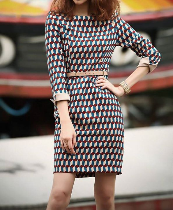 Dress Club CODE D2-CMT100811 SIZE SML PLAID PRICE P1250  Cotton+Terylene Detail in Tile Measurement Size(cm) Shoulder Bust Length Sleeve Waist S 38 82 85 53 68 M 39 86 86 54 72 L 40 90 87 55 76  FREE LOCAL SHIPPING for 3 or more P.O. items!  TO ORDER, Please PM us Code & Photo (No PM, No Reservation)  *Receive item in 5-10 days