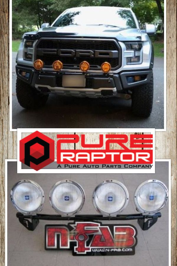 A Happy Customer Thanks To A New Light Bar From Www Pureraptor Com Bar Lighting Ford Raptor Pure Products