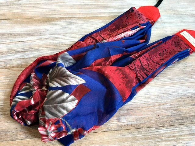 Floral Scarf Camera Strap - Royal Blue Red Scarf DSLR Camera Strap - Photography Accessories -  Scarf Neck Strap - Camera Accessories by theWatermelonDesign on Etsy