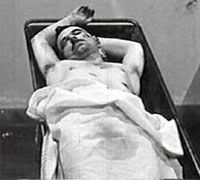 John Dillinger Morgue photo