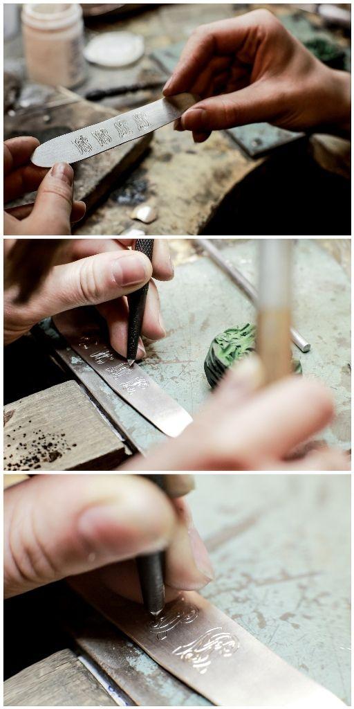Spinki mankietowe. Cufflinks - how to do it?