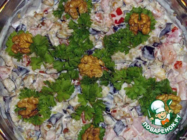 """Салатик """"Лора"""" - кулинарный рецепт"""