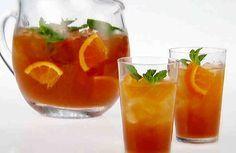 Esta mágica combinación de té verde, naranja y menta es la ideal si quieres perder peso y limpiar tu cuerpo.  Por lo tanto, se recomienda esta bebida para ser consumido como una bebida para salud en general.  Té verde mejora el metabolismo y ayuda quemar grasa.Sólo una taza diaria de té ver