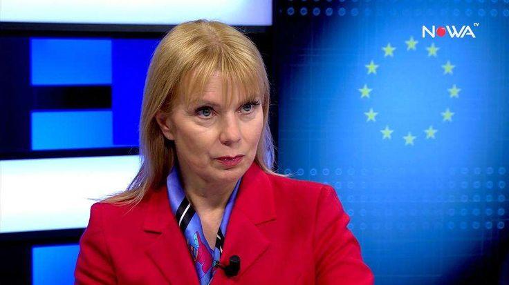 Europejska Komisarz ds. Rynku Wewnętrznego i Usług Elżbieta Bieńkowska - Nowa TV