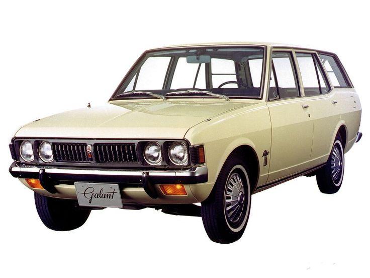 Mitsubishi Colt galant station wagon 5-door 1970-73