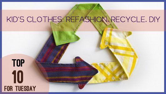 Top 10 kids clothes refashion