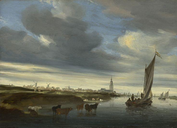 Salomon Van Ruysdael | Salomon van Ruysdael (c. 1602, Naarden - buried November 3, 1670 ...