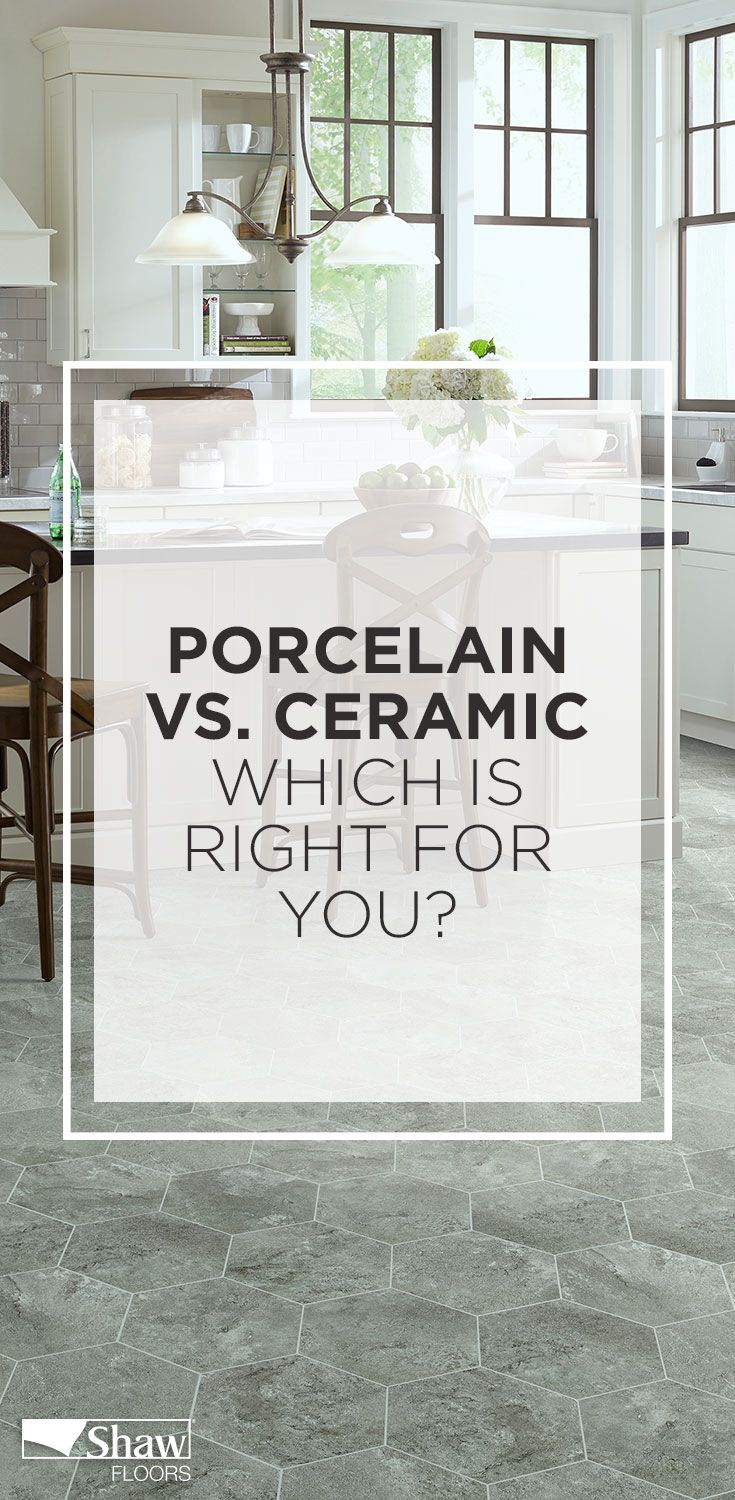 91 best kitchen and bath tile floor makeover ideas images on how does our porcelain tile compare to our ceramic tile find out what sets them dailygadgetfo Gallery