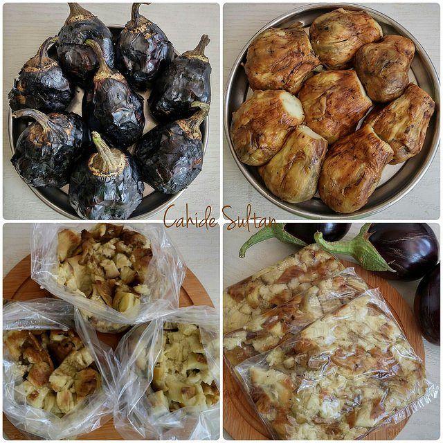 Dondurucuda Közlenmiş Patlıcan | Cahide Sultan بسم الله الرحمن الرحيم