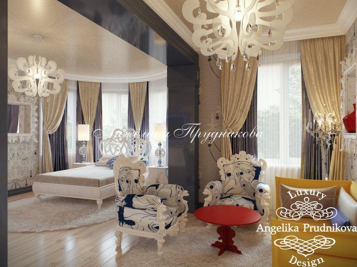Дизайн детской комнаты для девушки в стиле Поп Арт - фото