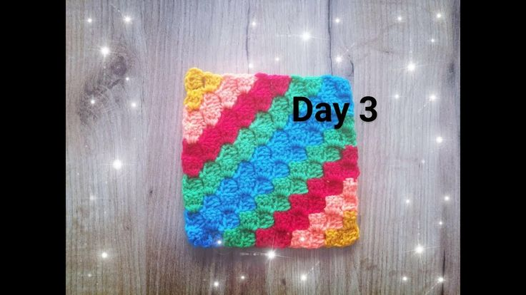 Dzień 3 - C2C na szydełku part 2- crochet corner to corner day 3 - 30