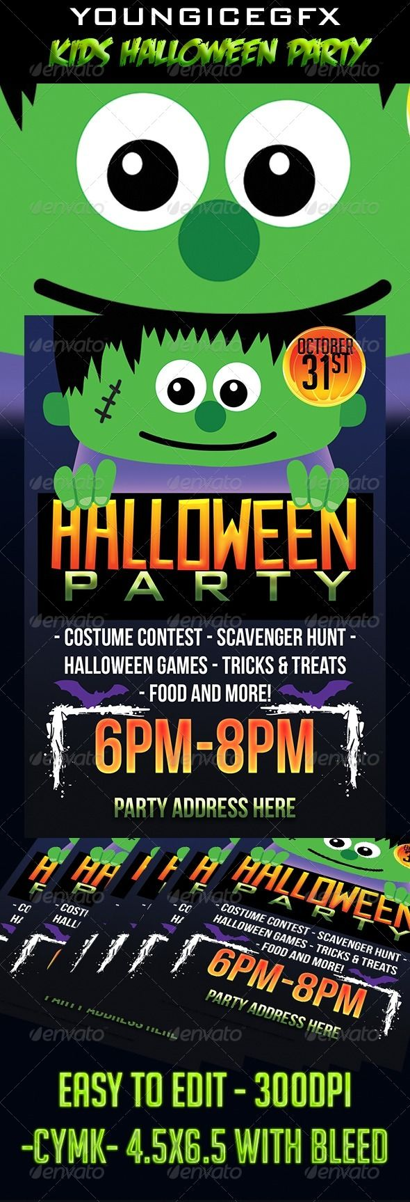 Best 25+ Halloween party flyer ideas on Pinterest | Flyers ...