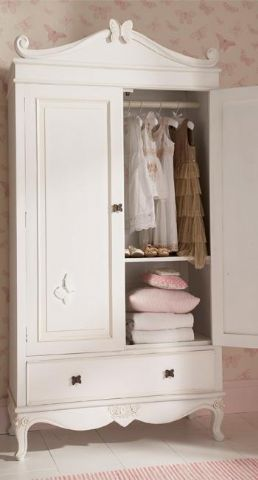 lavendela:    (via Mum Said - Kids Furniture > Armoires and Wardrobes > Matilda Butterfly Double Wardrobe-In White)            (via TumbleOn)