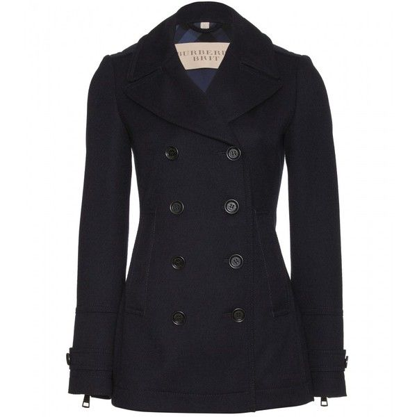 Burberry Brit Fenstead Peacoat found on Polyvore