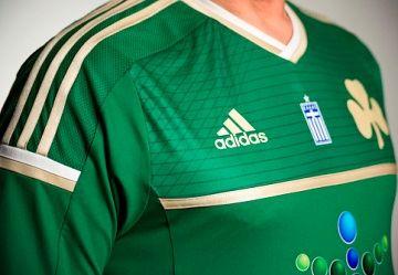 Panathinaikos FC 2014/15 adidas Home Kit