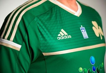 Panathinaikos FC 2014/15 adidas Home Kit
