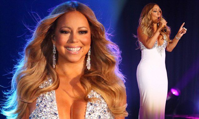 Mariah Carey puts on a show for James Packer in Melbourne