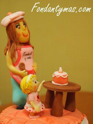 Tarta de Cumpleaños: http://www.fondantymas.com/2013/09/mi-tarta-de-35-cumpleanos.html