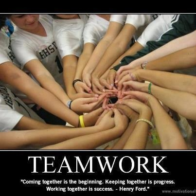 #Teamwork - One of My fav quote