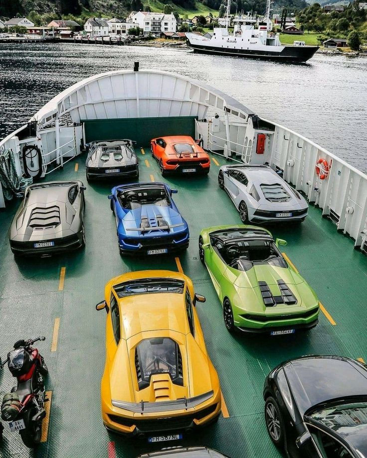 in ship exporting cars in 2020