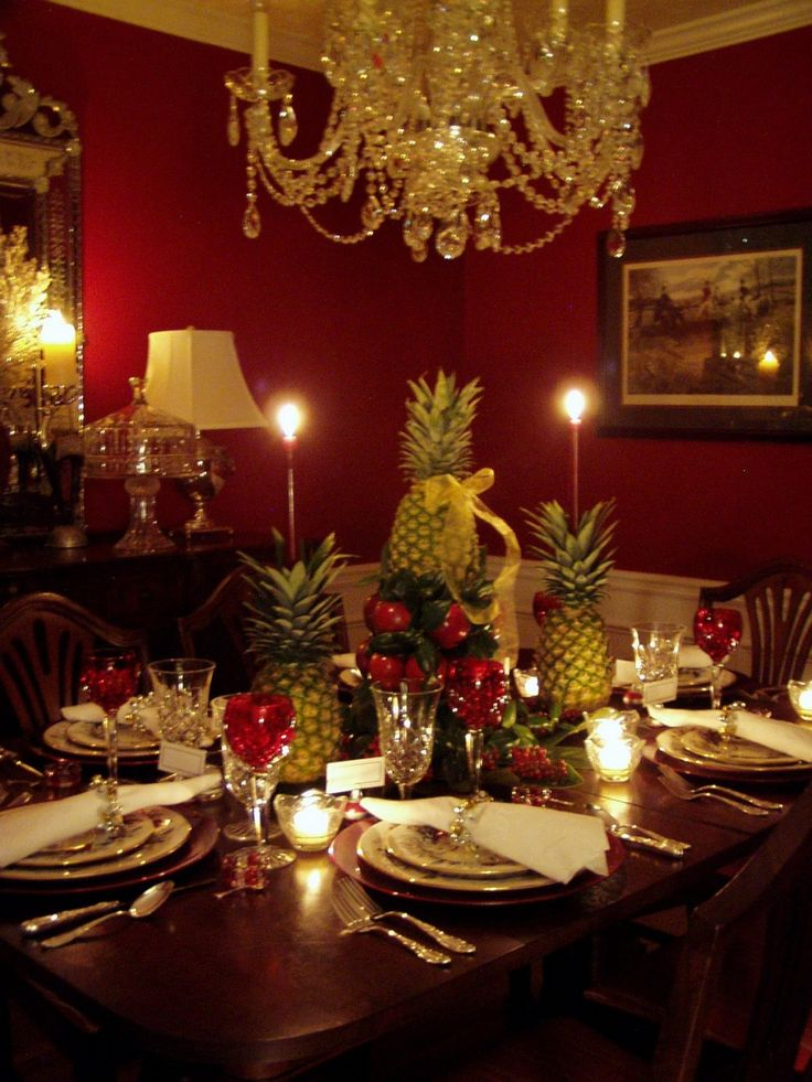 20 Christmas Decorating Ideas For The Table | Home Design, Interior  Decorating, Bedroom Ideas