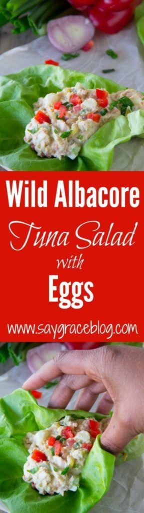 This Wild Tuna Salad Recipe with eggs is loaded with flavor, has a SECRET INGREDIENT and is the perfect solution for those days, nights and/or WEEKS without power.