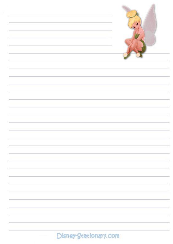 Disney writing paper