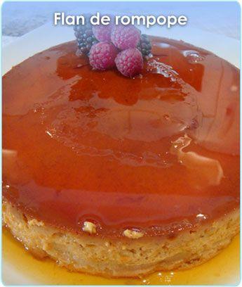 Otra receta de Flan de Rompope