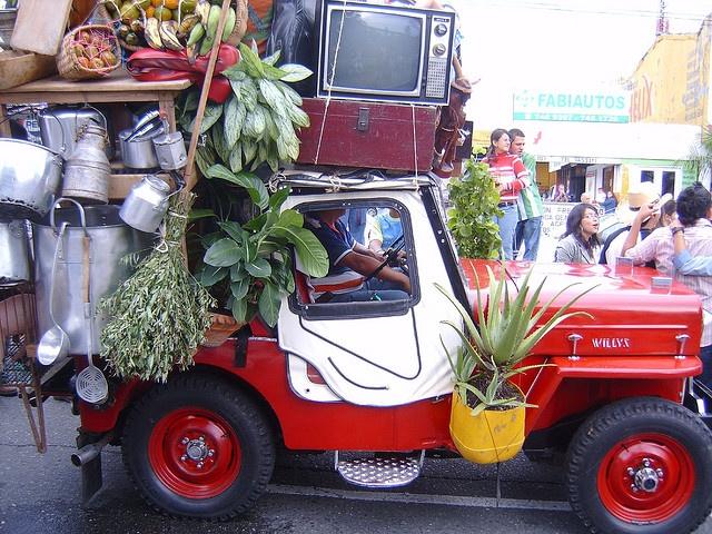 Armenia, Colombia Tipica Chiva