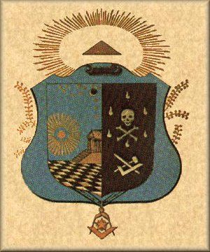 Brasão do Grau de Mestre-Maçom - Rito Escocês Antigo e Aceito                                                                                                                                                                                 Mais