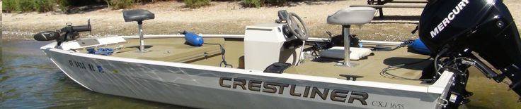 Bass boat for sale (2006 Crestliner CXJ 1655 SC Update: Price reduced to $3,000.00!