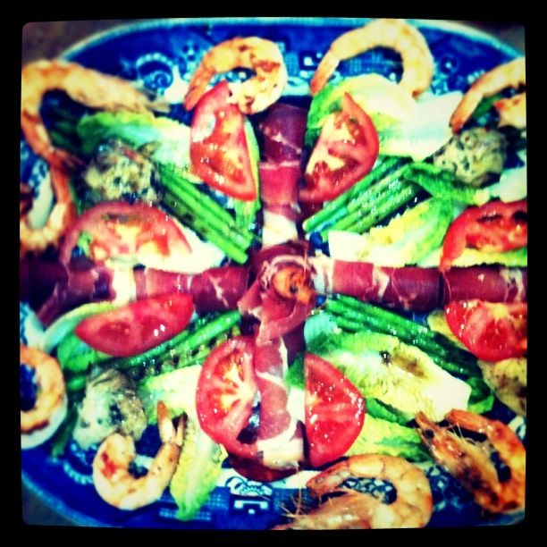 #catalan #Amanida #salad at the Food at 52 London Cookery School Kitchen
