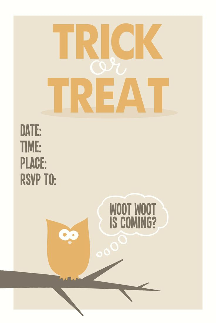 The 18 best images about Halloween Invites on Pinterest