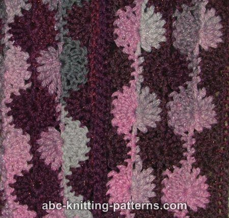 ABC Knitting Patterns - Dusk and Dawn Scarf .