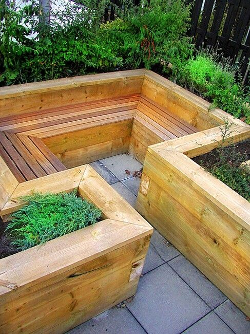 Seating/Raised beds