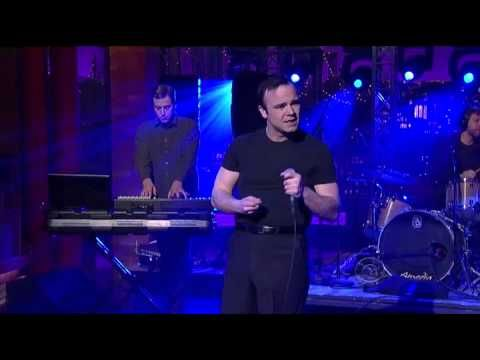 "Future Islands - ""Seasons"" @ Letterman 3/3/14"