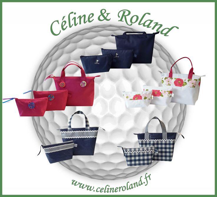 Les jolis sacs et pochettes de l'été arrivent chez Céline & Roland !