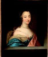Ninon de Lenclos (1620-1705), author, courtesan, freethinker and patron of the arts, by Louis Ferdinand Elle the Elder (1612-1689), mid 17th C