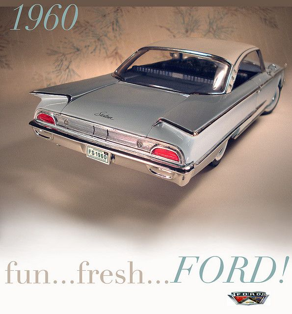 1960 Ford Starliner - the Fun, Fresh, Ford!