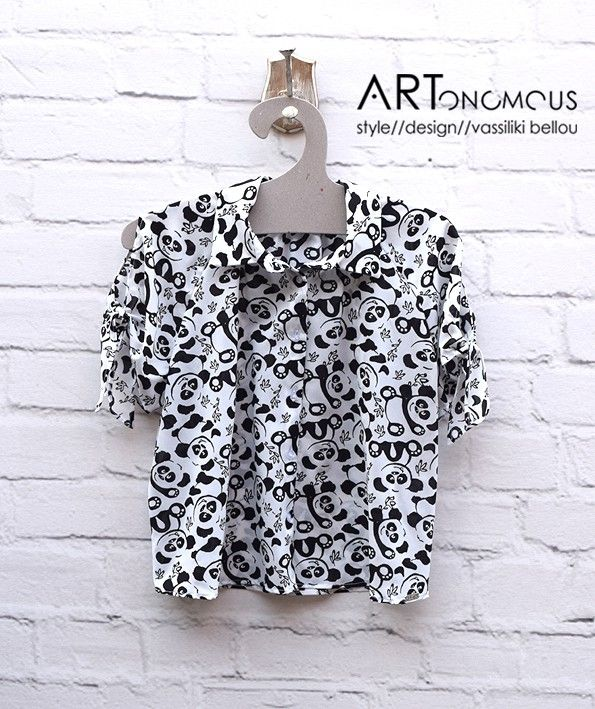 Black and White printed shirt