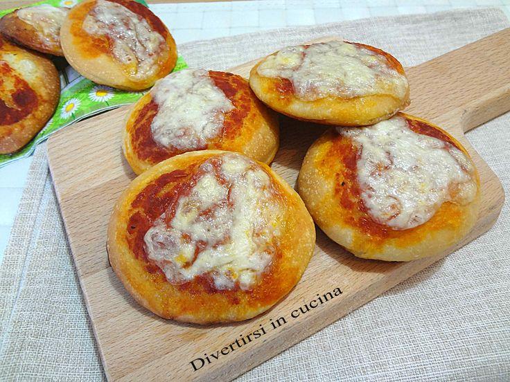 Pizzette da buffet