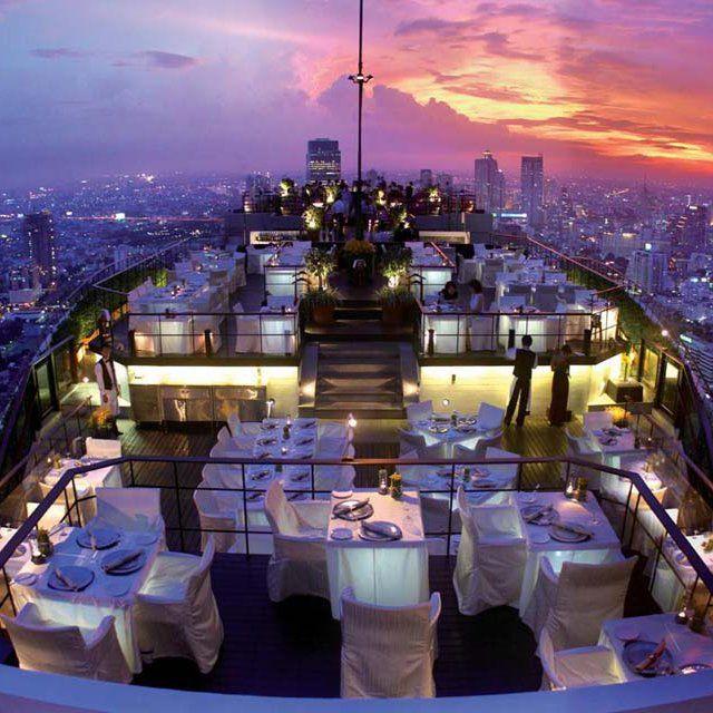 Banyan Tree Hotel @ BangkokHong Kong, Banyan Trees, Hongkong, Trees Hotels, Romantic Places, Bangkok Thailand, Thailand Travel, Romantic Meals, Travel Destinations