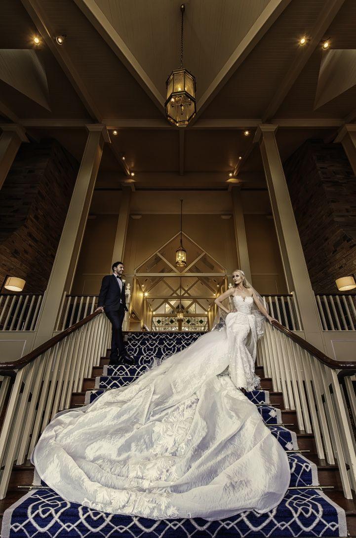 Soraya in her custom-made Ella Moda wedding gown!  #realbride #wedding #weddingdress #custommade #couture #ellamoda #bride #groom