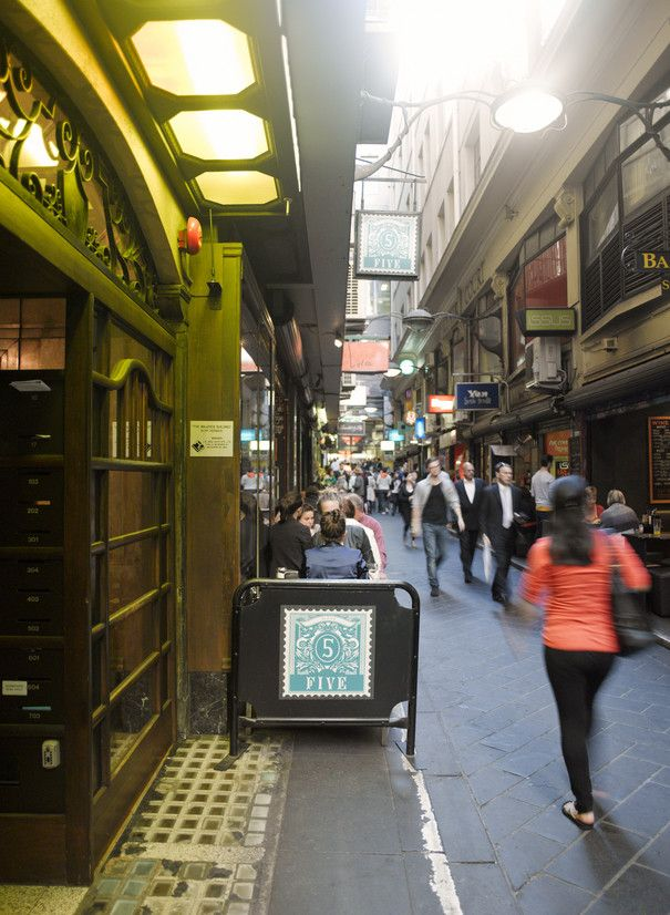 Melbourne has many small lane ways to explore