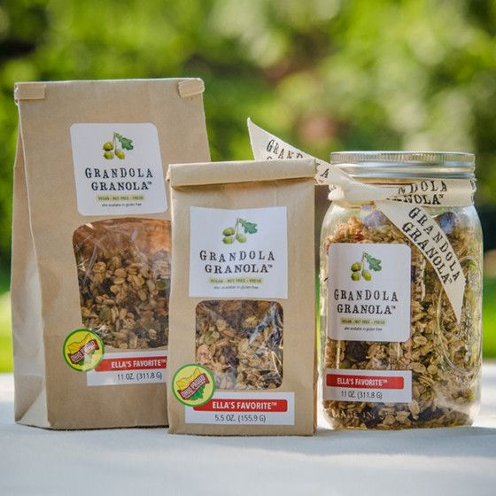 Ella's Favorite Granola is made by hand in small batches. Ingredients: organic…