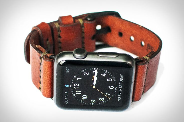 Apple's first-party straps for its watch are well made, but tend match a certain modernist aesthetic. If you're looking for something a little more rustic for yours, consider this Bexar Apple Watch Strap. Precision cut from American bridle leather, saddle...