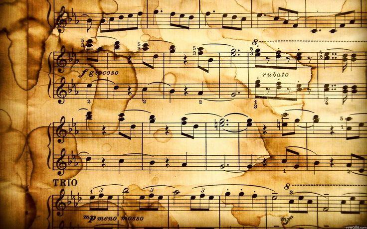 Partituras Musicais 4K HD Wallpaper | Музыкальные обои ...